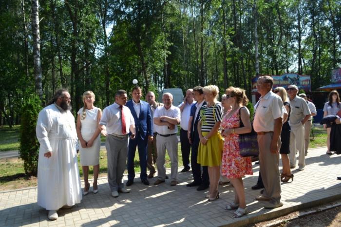 Михаил Авдеев поздравил жителей Талдома с днем города