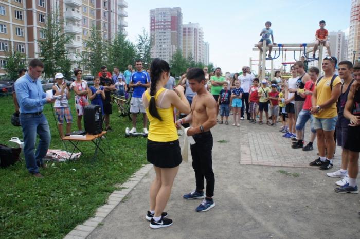 Соревнования по воркауту прошли в Подольске