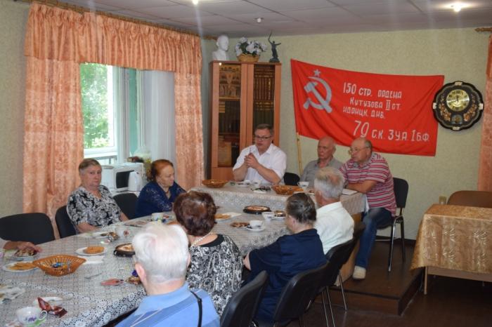 Ветераны Протвино поддерживают КПРФ