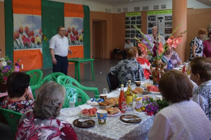 Встреча организации «Дети войны» в Тарасково