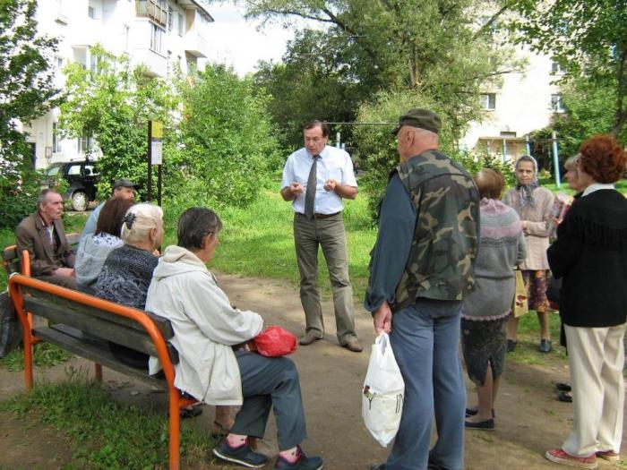 Владимир Чувилин встретился с жителями Можайского района