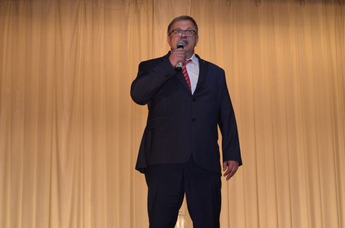 Александр Наумов выступил перед учителями города Протвино