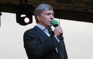 Алексей Русских поздравил жителей Красногорска с Днем города