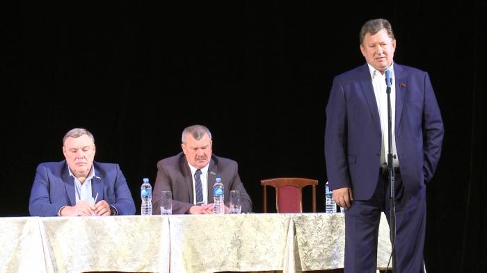 Выступление Владимира Кашина в Музыкально-драматическом театре города Серпухова 02.09.2016