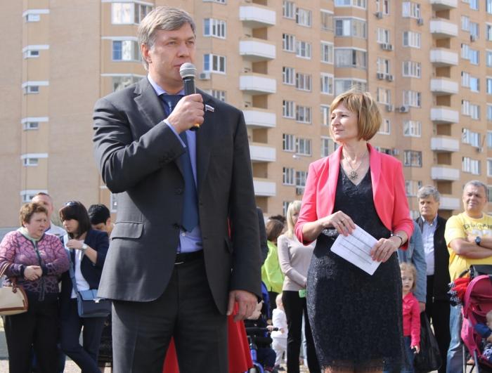 День знаний отметили в городе Красногорске Московской области