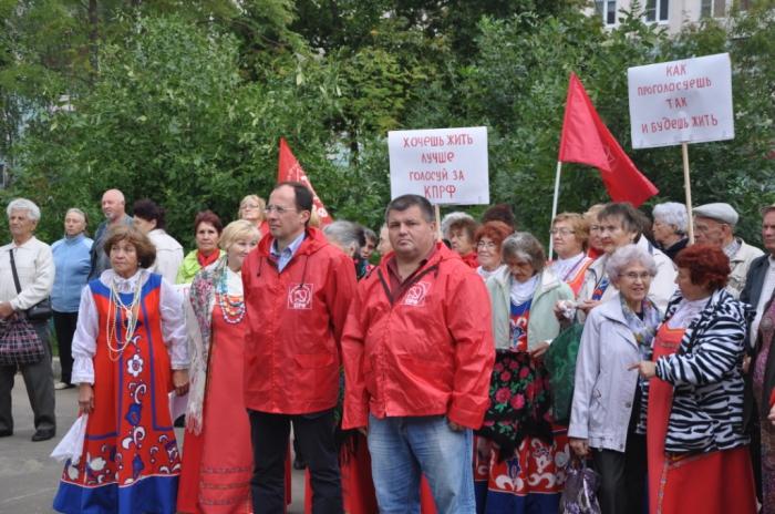 Митинг в Егорьевске. Фёдорова - в Госдуму!