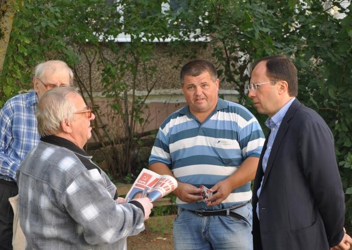 Виталий Фёдоров провел встречи с жителями Воскресенского района