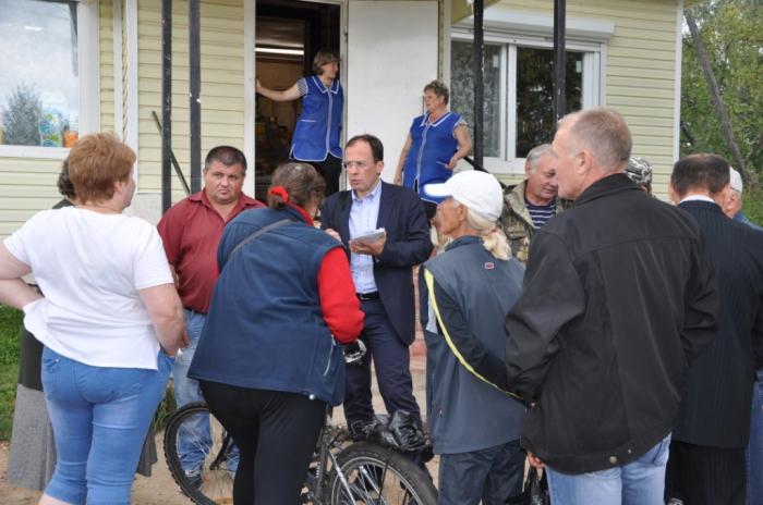 Кандидаты от КПРФ Фёдоров и Соколов разбирались в проблемах жителей Егорьевска