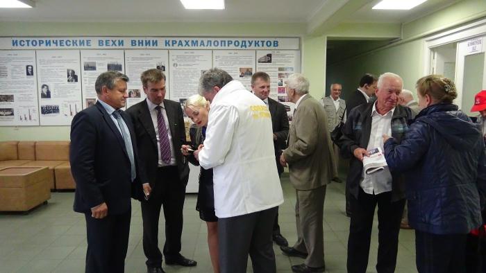 Павел Грудинин встретился с коллективами научно-исследовательских институтов Люберецкого района