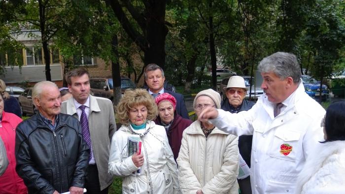 Встреча с жителями Люберец