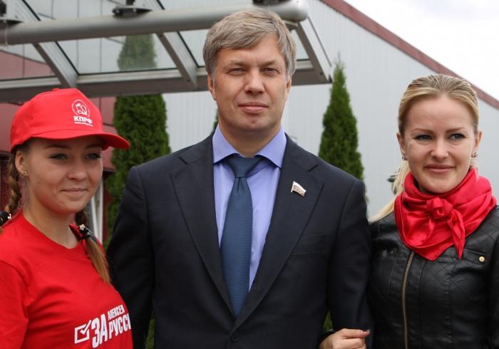 Лидер КПРФ Геннадий Зюганов в Красногорске: «Надо подниматься и идти голосовать»