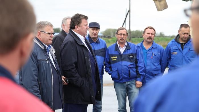 Рабочий визит Владимира Кашина в Озеры, Ступино, Каширу