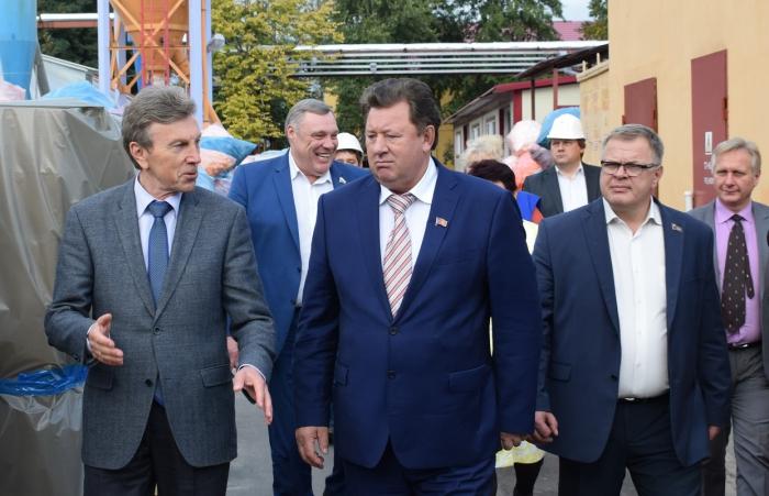 Рабочий визит Владимира Кашина в город Ступино 15.09.2016