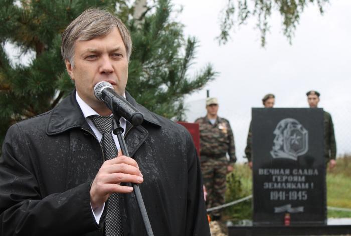 При поддержке КПРФ и Алексея Русских в Лотошинском районе открыли мемориал павшим в Великой Отечественной войне