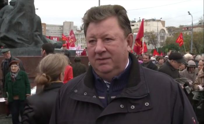 Интервью Владимира Кашина на митинге 04 октября 2016 года