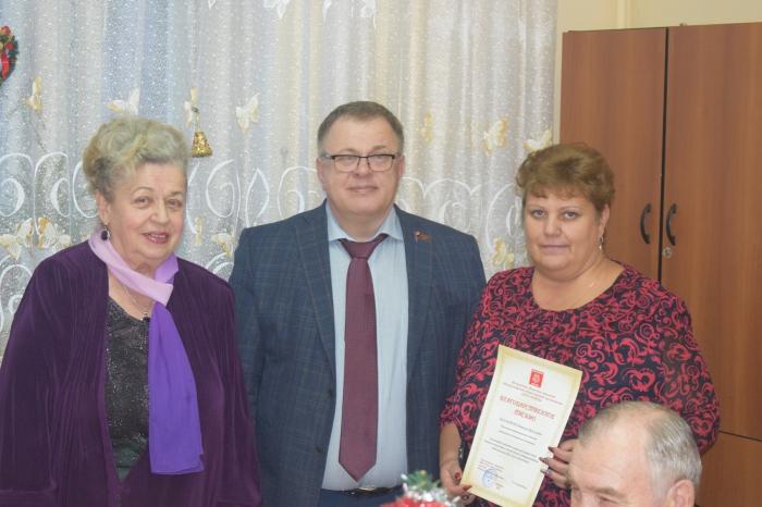 5-летие организации «Дети войны» города Домодедово отпраздновали в мкр. Авиационный