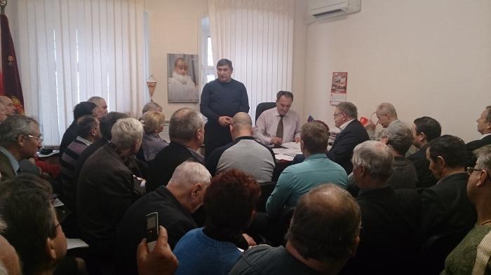 Состоялось совещание первых секретарей областных парторганизаций