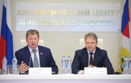 В.И. Кашин провел совместное заседание комитета Госдумы по аграрным вопросам и Минсельхоза России