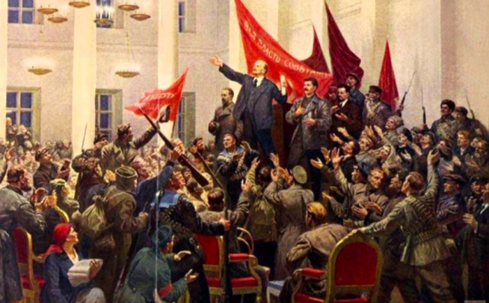На защите революции