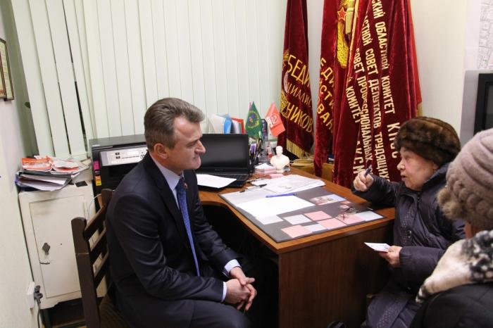 Депутат Василий Мельников провел встречу с жителями Пушкино