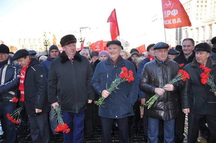 Будущее страны – обновленный социализм!