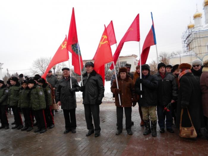 Коммунисты Рузы отметили 75-ю годовщину освобождения от немецко-фашистских захватчиков