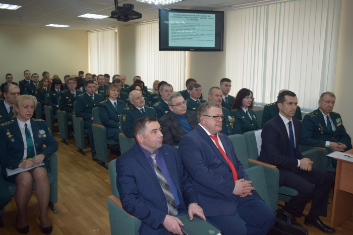 Александр Наумов поздравил домодедовских таможенников с профессиональным праздником