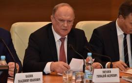 Г.А. Зюганов: Против нас ведется гибридная война