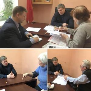 В Солнечногорске открылась общественная приемная депутата Госдумы Алексея Русских