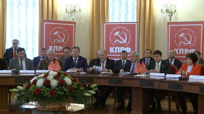 Заседание Совета народно-патриотических сил России в Доме Союзов 07.02.2017