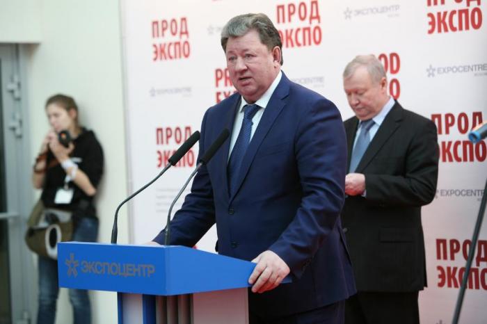 В.И. Кашин принял участие в открытии 24-й Международной выставки «ПРОДЭКСПО-2017»