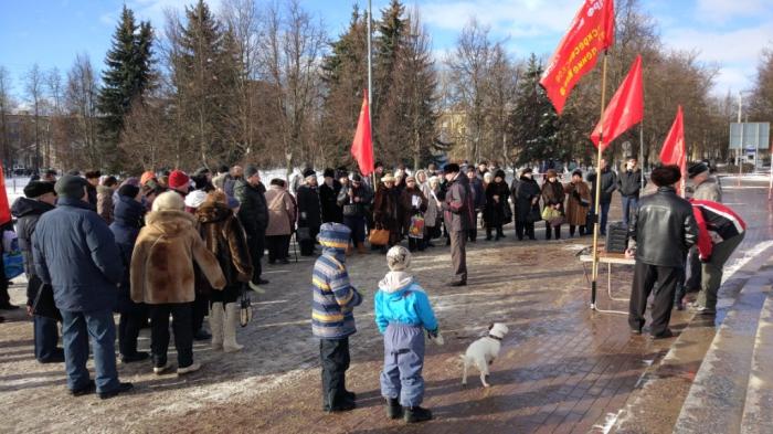 Воскресенск: Мы будем отстаивать право на достойную жизнь!