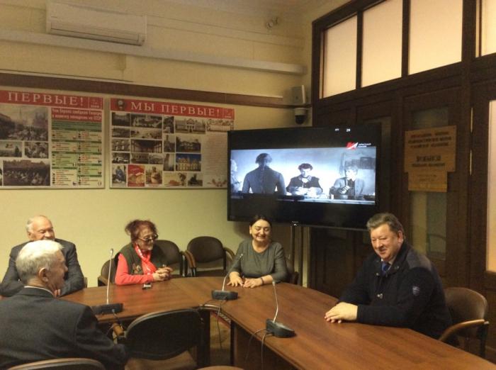 Ветераны гражданской авиации посетили Фракцию КПРФ в Госдуме