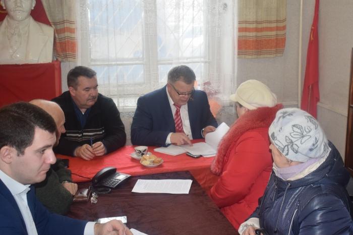 Депутат Московской областной Думы Александр Наумов провел прием граждан в городе Ступино