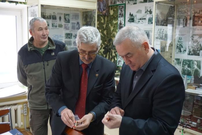 Александр Галдин встретился с коллективом Одинцовского историко-краеведческого музея