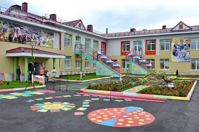 Детские сады России XXI века