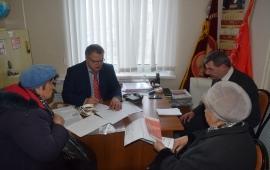 Депутат Московской областной Думы Александр Наумов провел прием граждан в городских округах Домодедово и Озеры