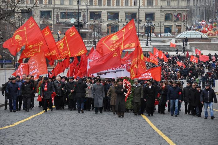 Подмосковные коммунисты почтили память И.В. Сталина