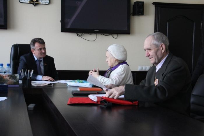 Василий Мельников встретился с жителями Софрино