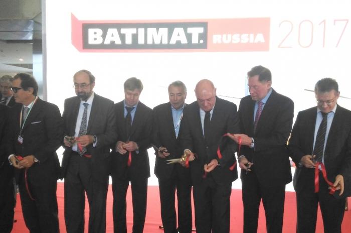 Алексей Русских посетил открытие Международной строительно-интерьерной выставки BATIMAT RUSSIA-2017
