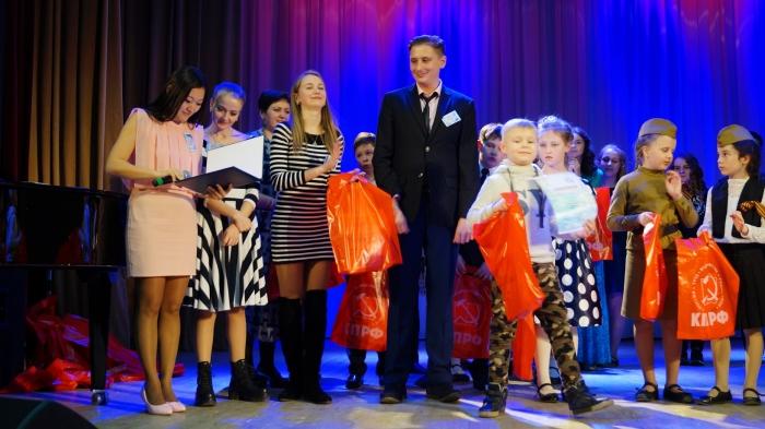 Прошел всероссийский Фестиваль детского и юношеского творчества «Земля талантов»