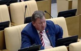 В.И. Кашин выступил на заседании Государственной Думы 21 апреля 2017 года