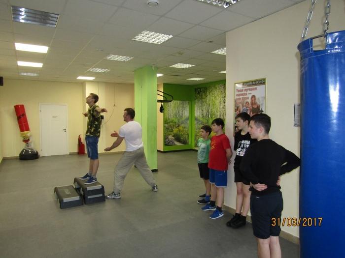 Спортивные занятия в Люберцах