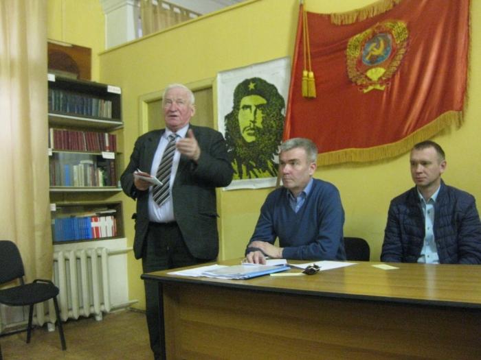 Люберецкие коммунисты отчитались о своей работе