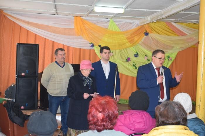 В городе Ступино состоялась встреча депутата-коммуниста Александра Наумова с «детьми войны»