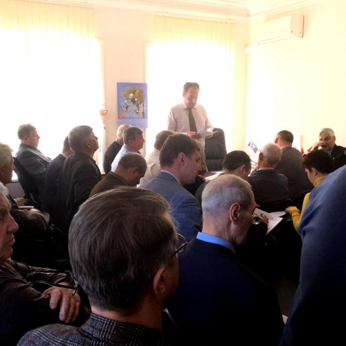20 апреля прошел Пленум Московского областного отделения КПРФ