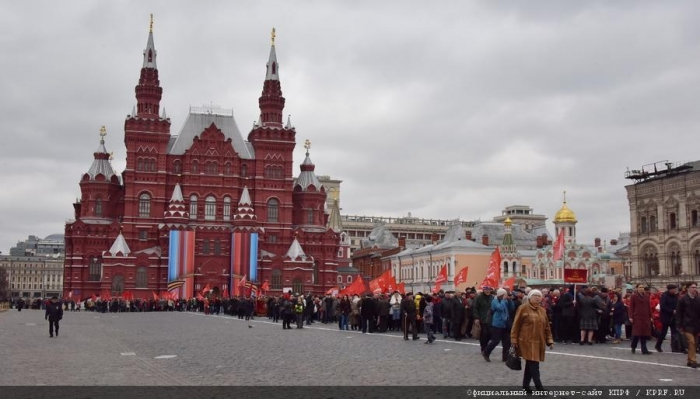 Г.А. Зюганов: Мир будет уверенно смотреть вперед, если пойдет по пути Ленина