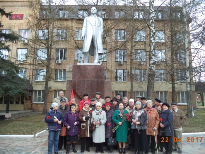 В Можайске состоялся митинг, посвященный 147-ой годовщине со дня рождения В.И. Ленина