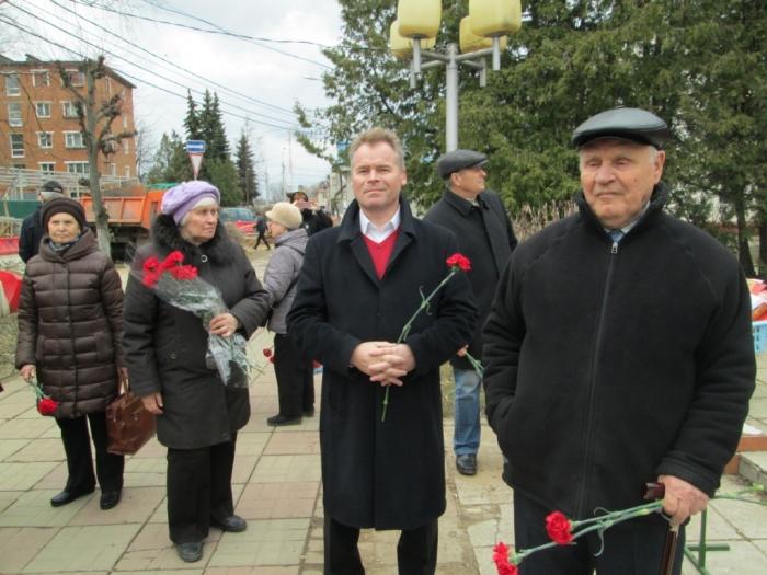 В Солнечногорске состоялся митинг