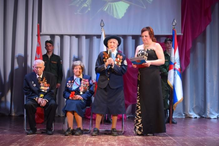 """6 мая в КДЦ """"Родина"""" подмосковной Каширы состоялось торжественное собрание, посвященное Великой Победе"""